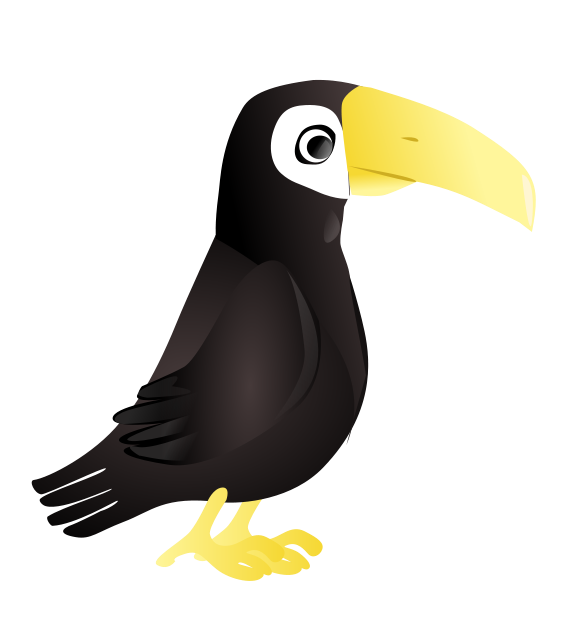 At the . Clipart birds zoo