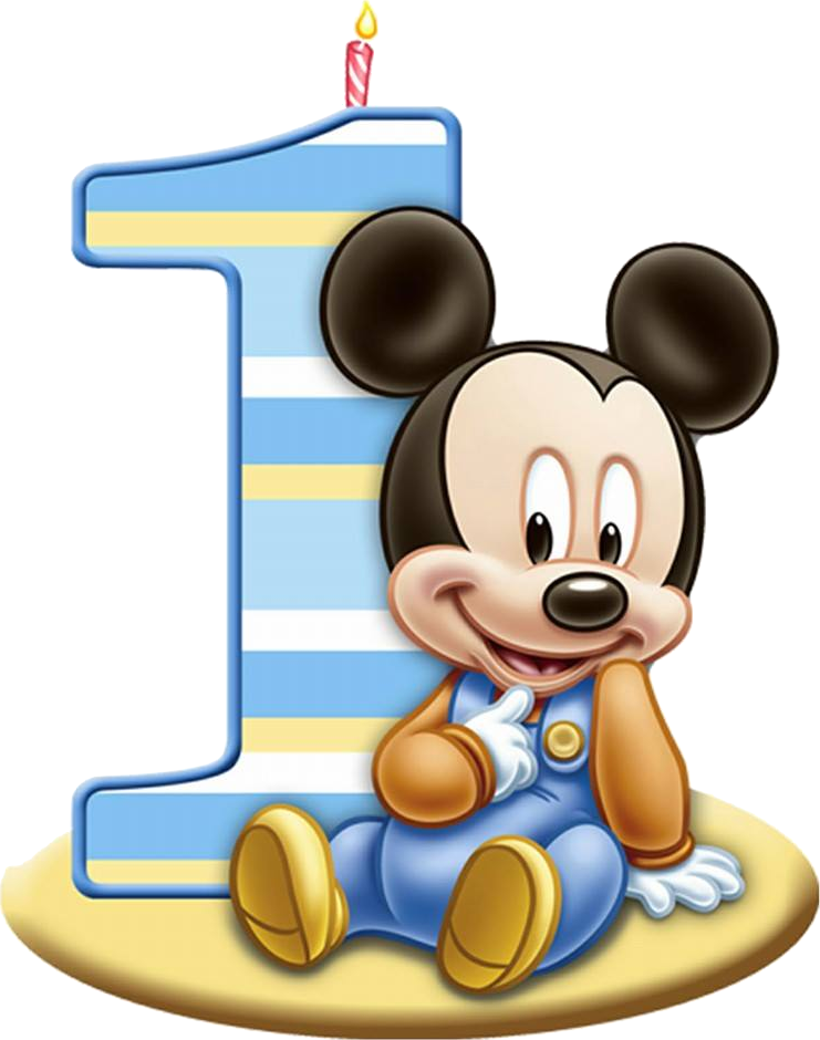 Mickey clipart beautiful. Personalised a st birthday