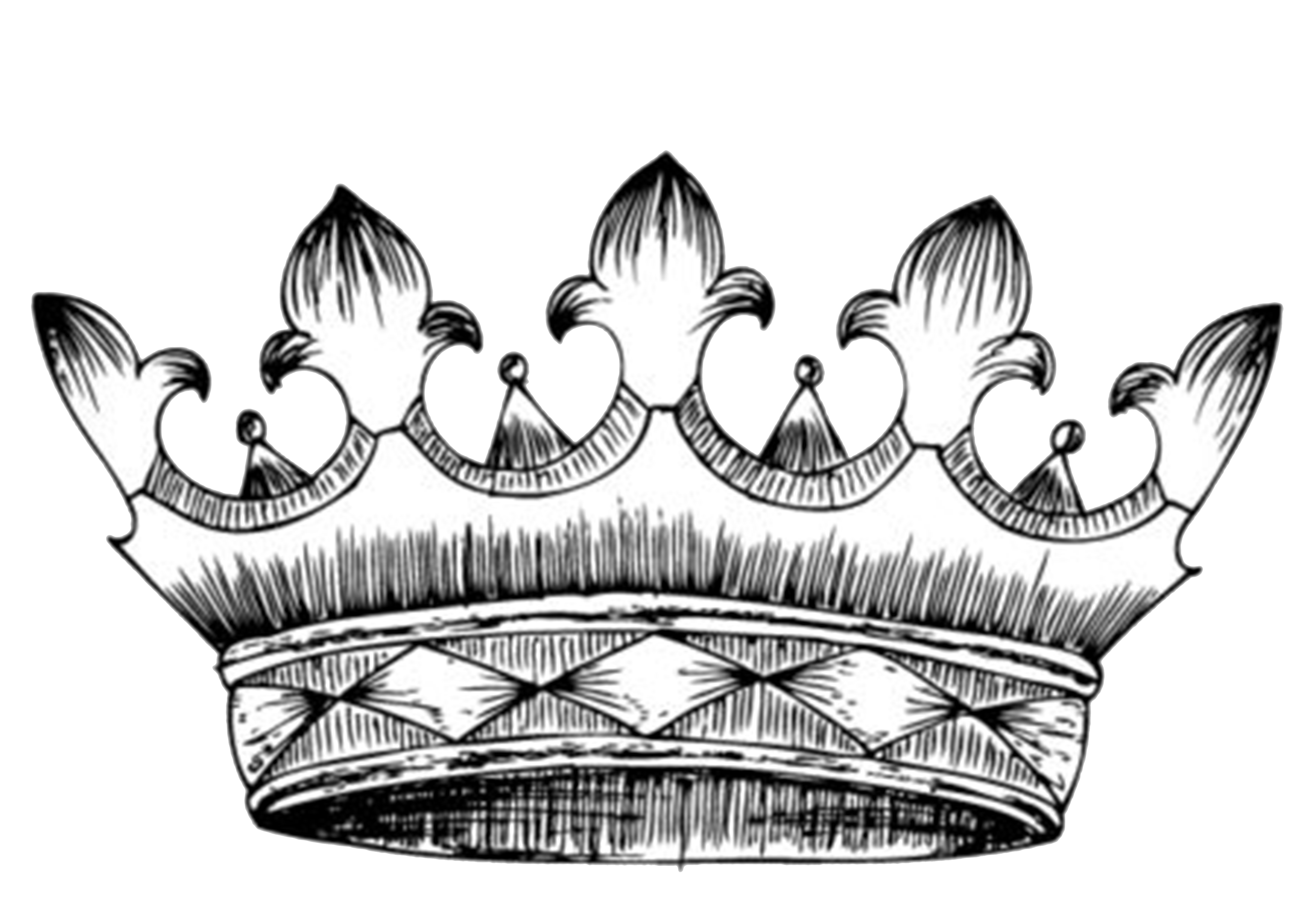 Drawing crown heraldry clip. Clipart birthday african american