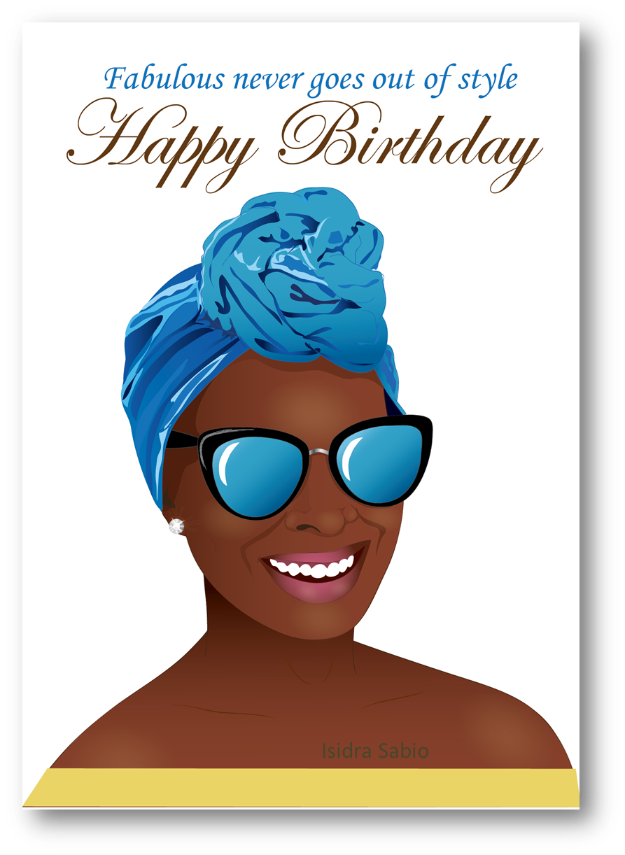 Maid clipart professional black woman. Birthday beautiful with head