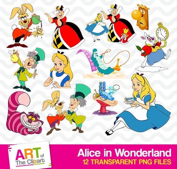 Disneyland clipart high resolution. Alice in wonderland disney