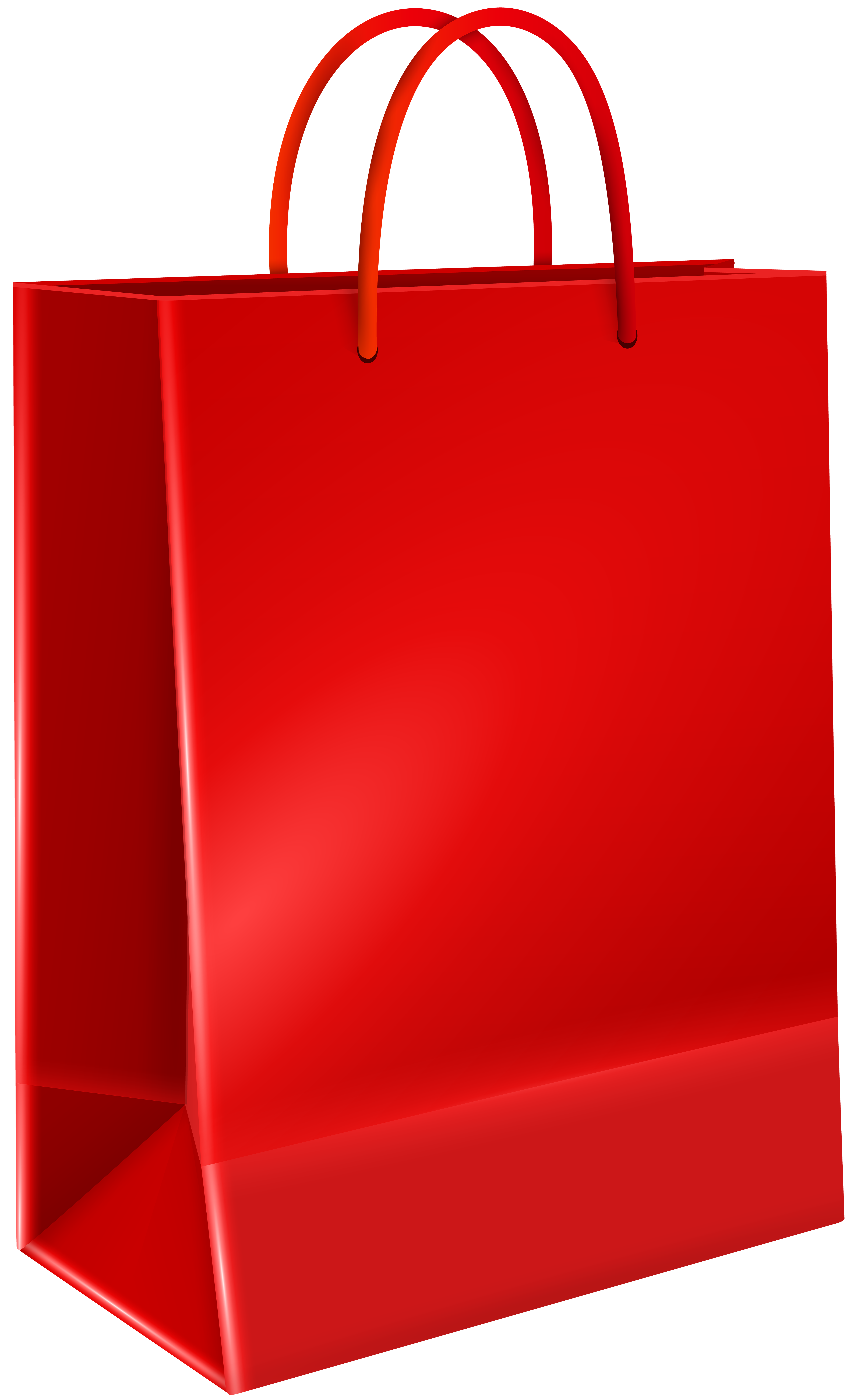 Red gift png clip. Clipart birthday bag