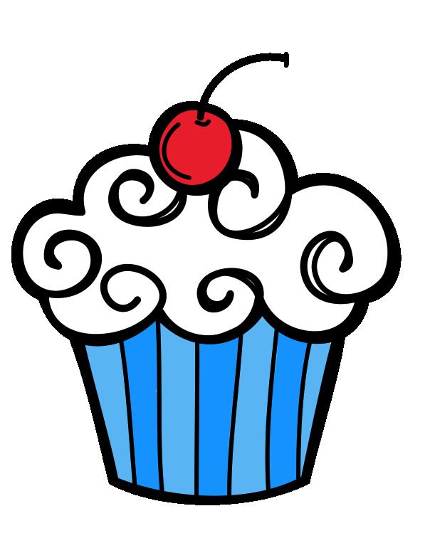 Happy birthday clip art. Cupcake clipart november