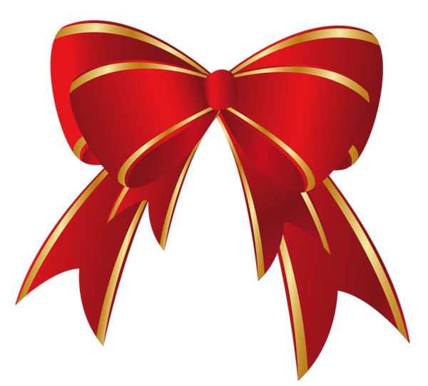 Red gold bow png. Clipart volleyball christmas