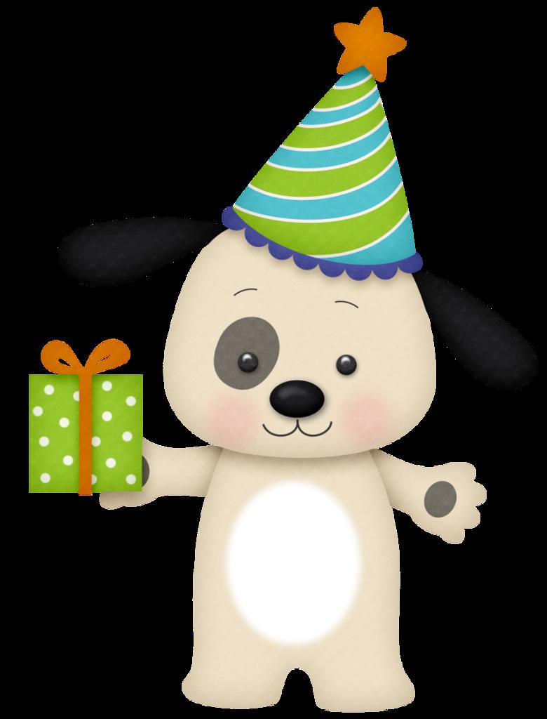 clipart puppy free birthday