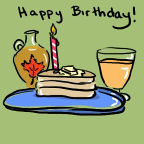 Clipart birthday breakfast. Free cliparts download clip
