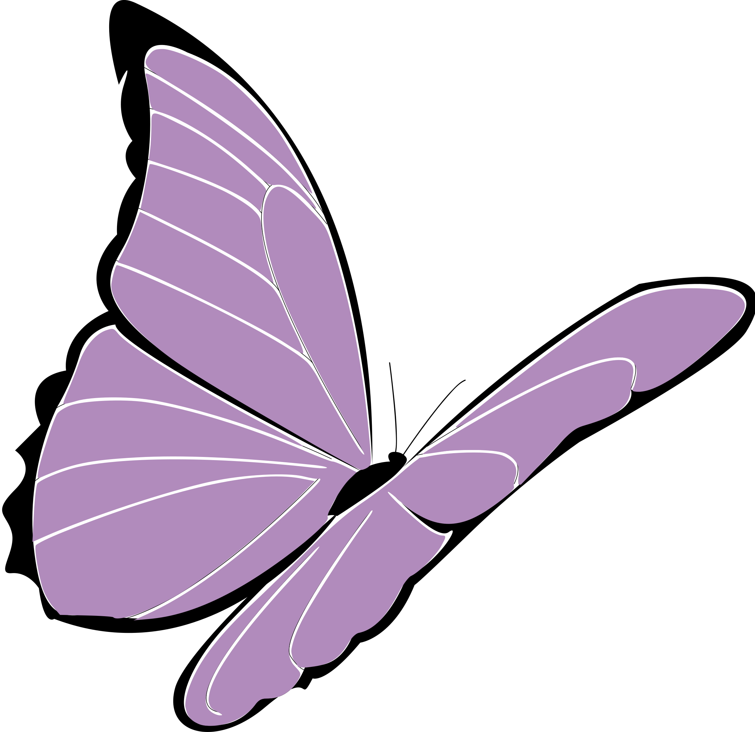Clipart birthday butterfly. Purple big image png