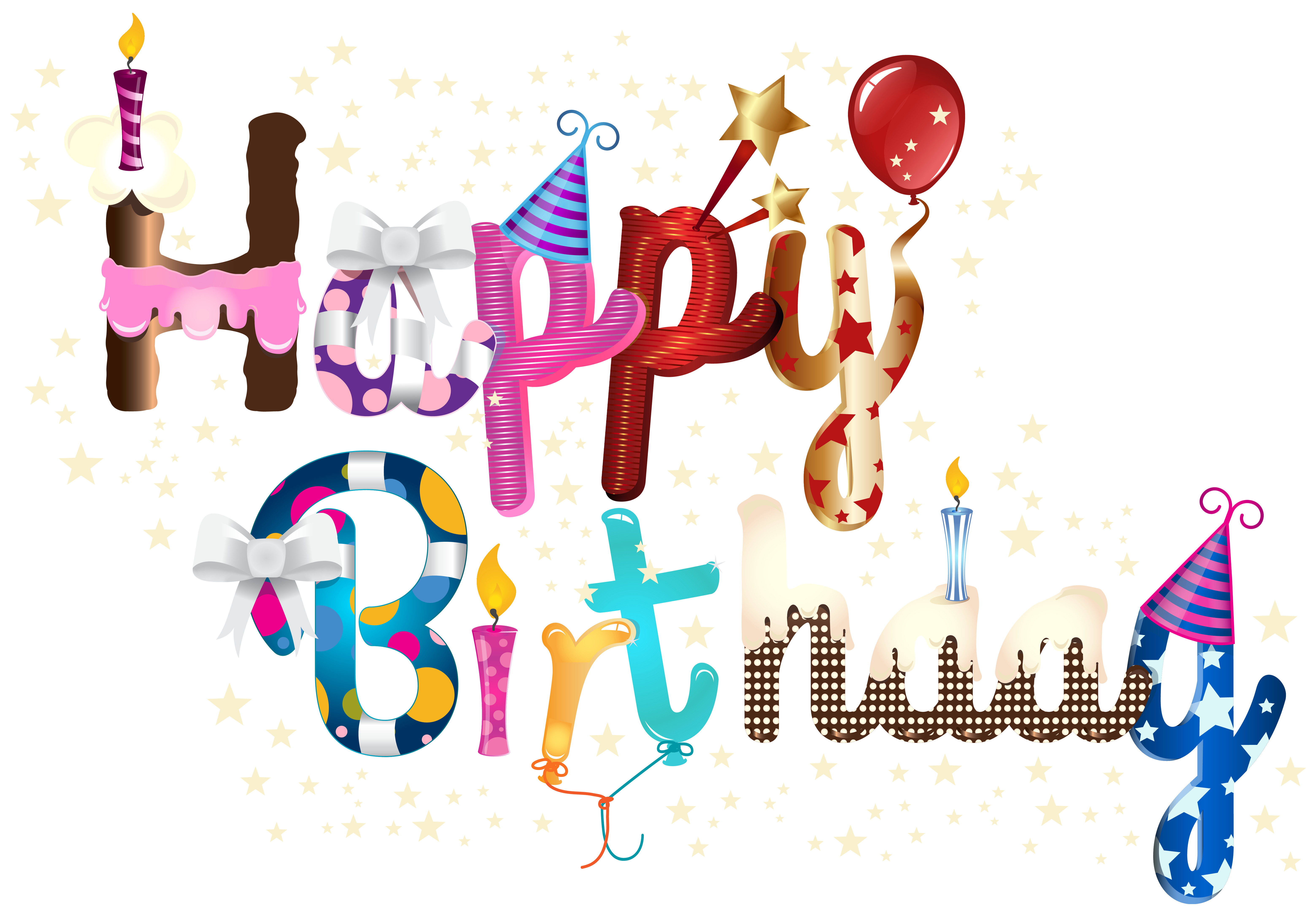 Birthday png images. Happy clip art image