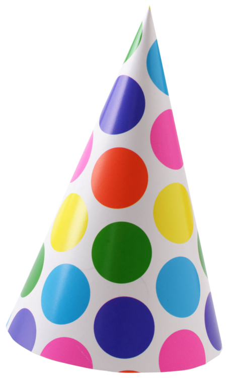 Clipart birthday caps. Hats hat clipartpost