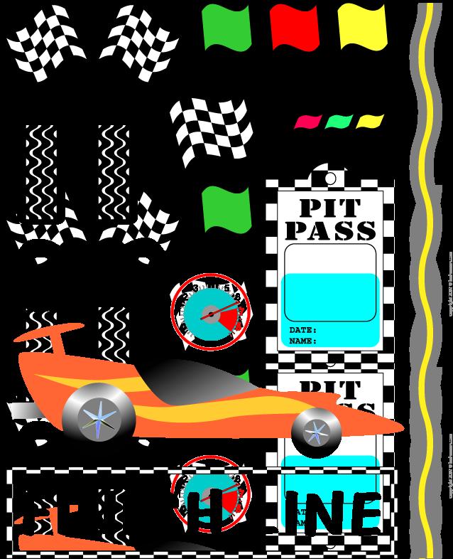 Clipart birthday car. Race for e s