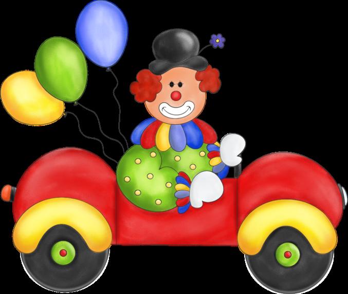 Payasos png recipes to. Clipart birthday car