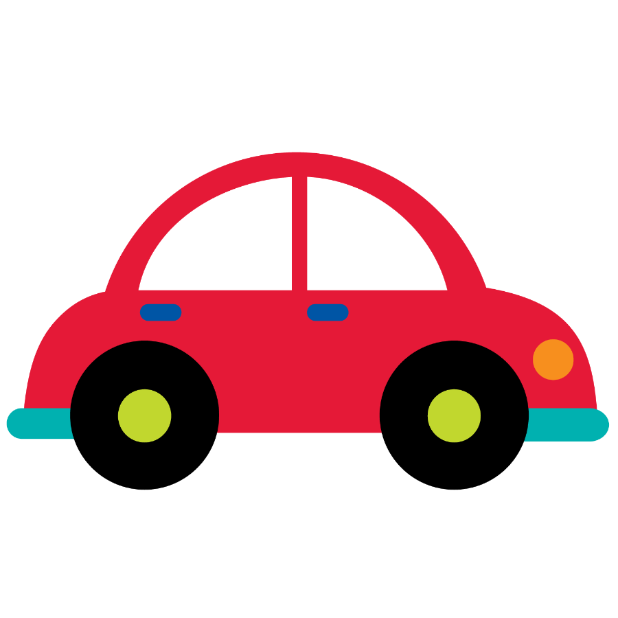 Clipart shapes car. Meios de transporte minus