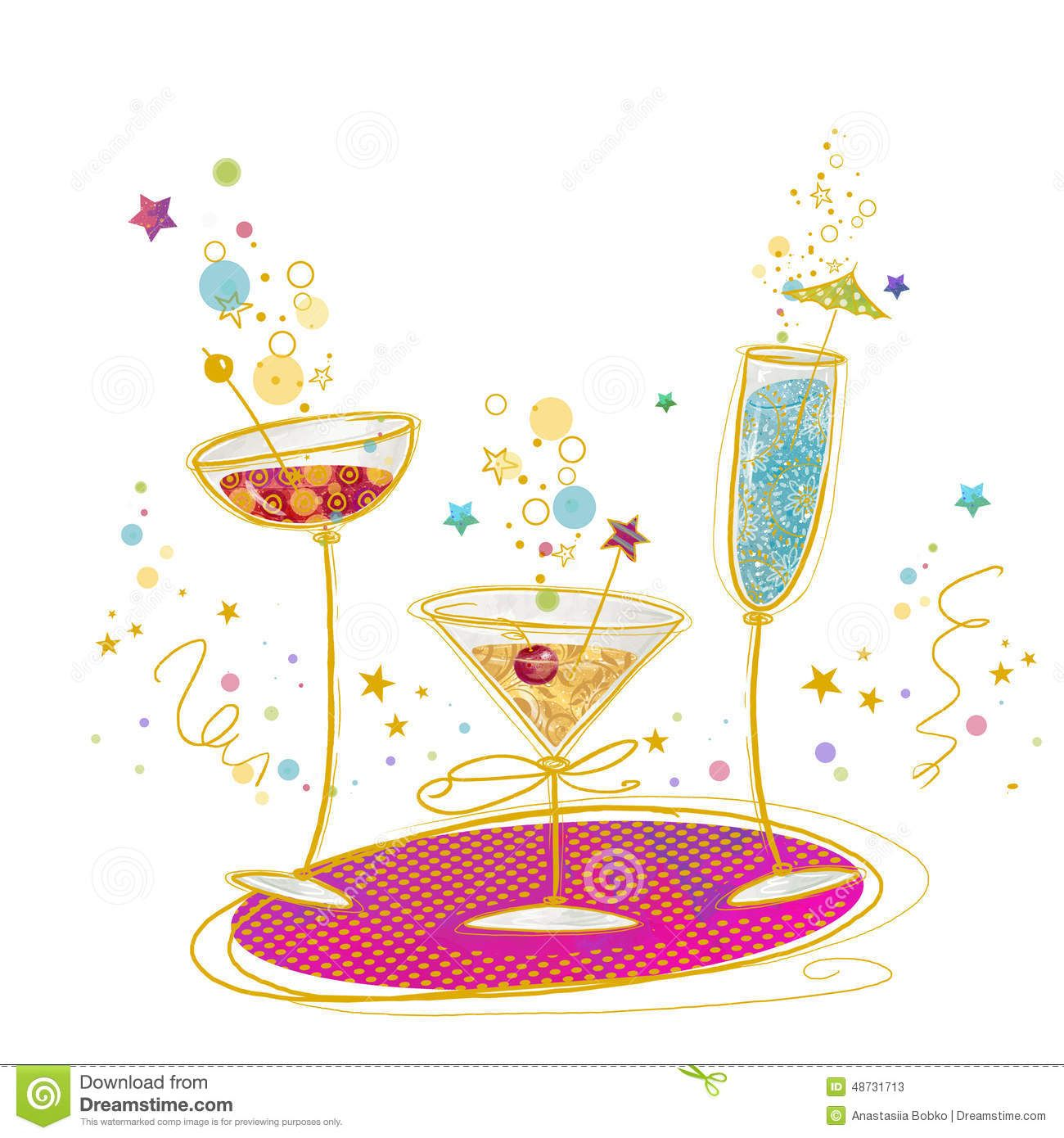 Cocktail clipart birthday. Showing gallery for martini