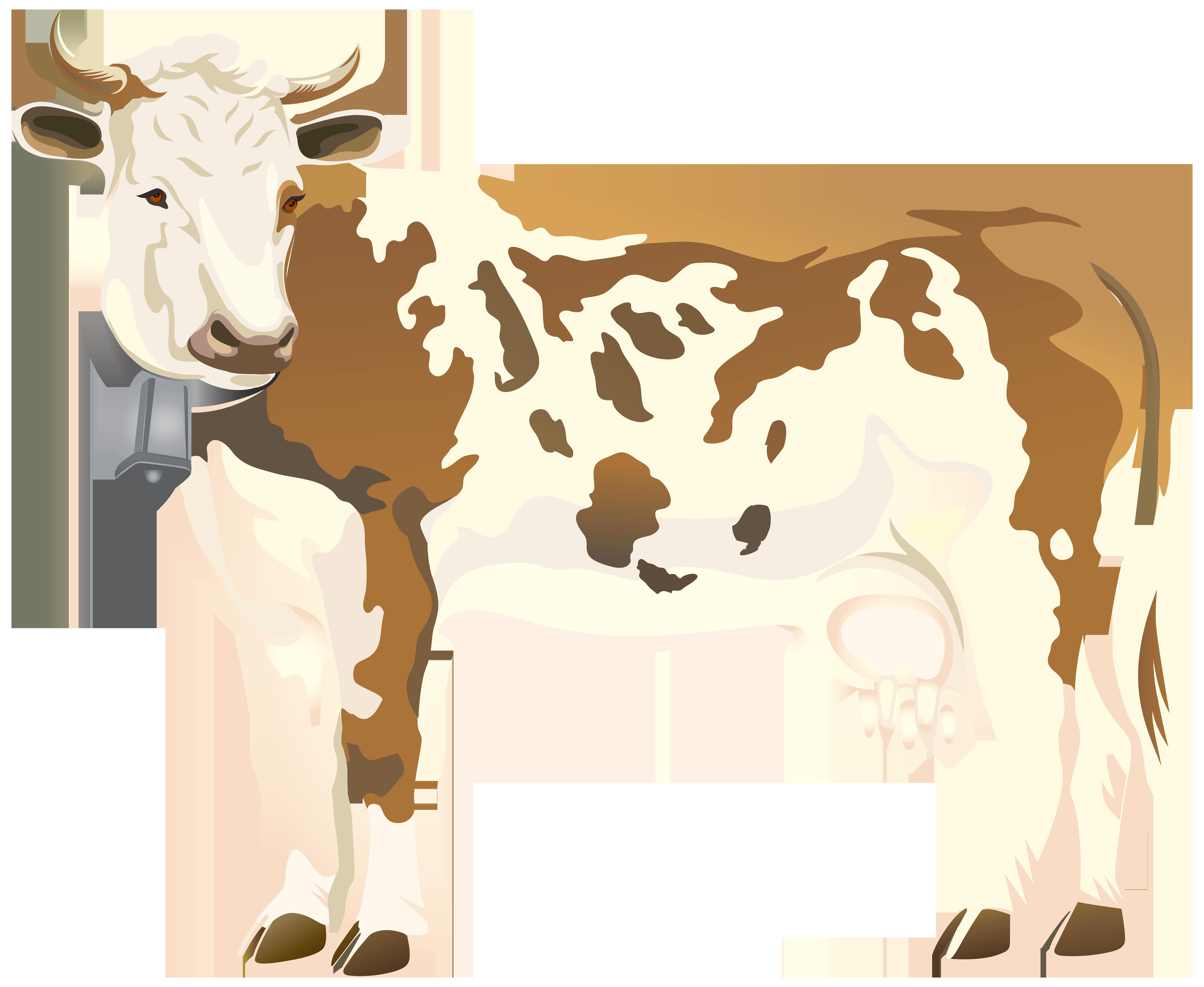Png clip art image. Cow clipart gold