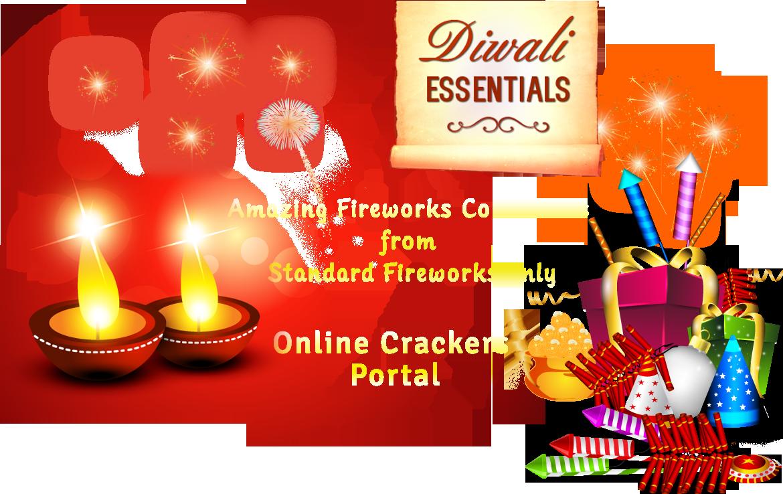Diwaali crackers online welcome. Clipart fireworks diwali