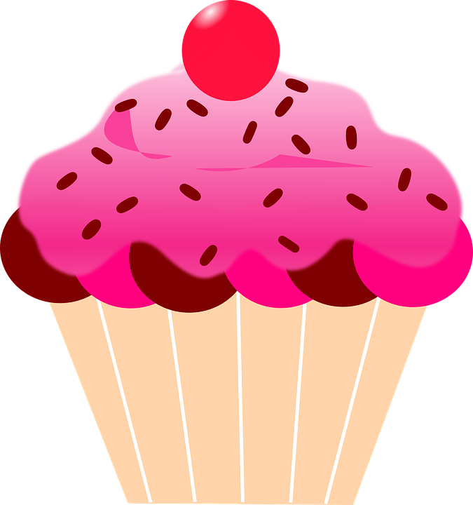 Bolos e etc my. Clipart birthday cupcake