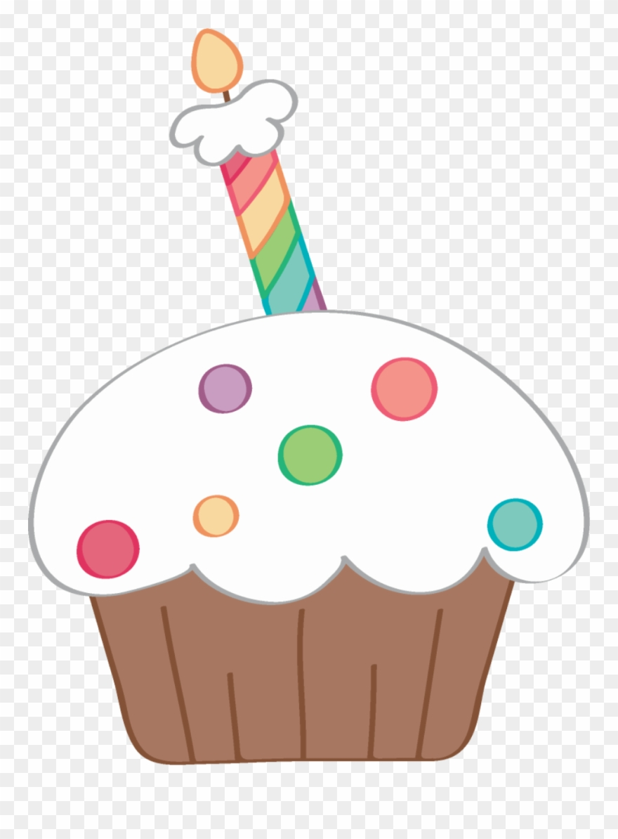 ce ebrate happy. Clipart birthday cupcake