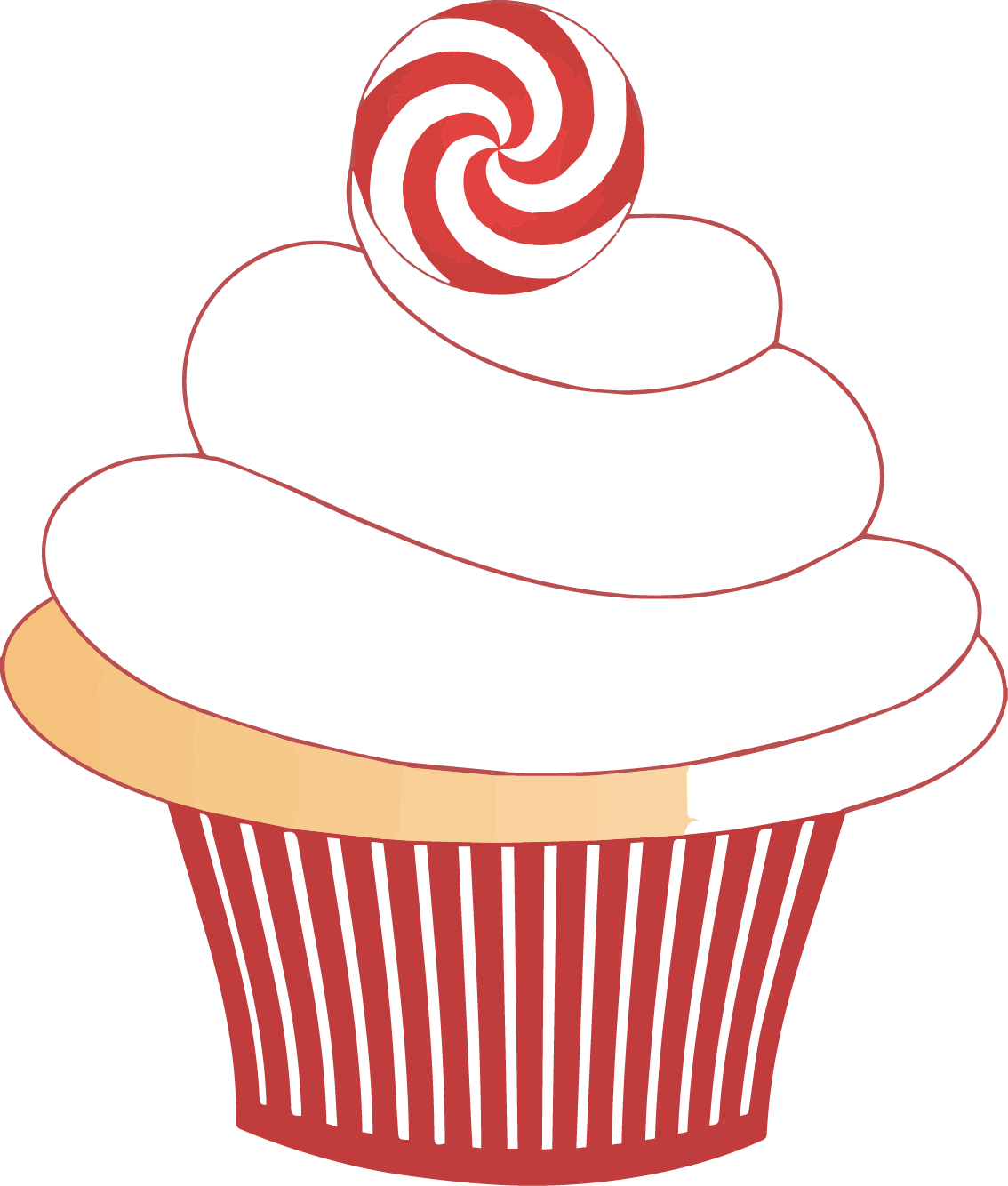 At getdrawings com free. Clipart birthday cupcake