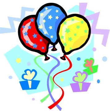Free birth day pics. Party clipart clip art