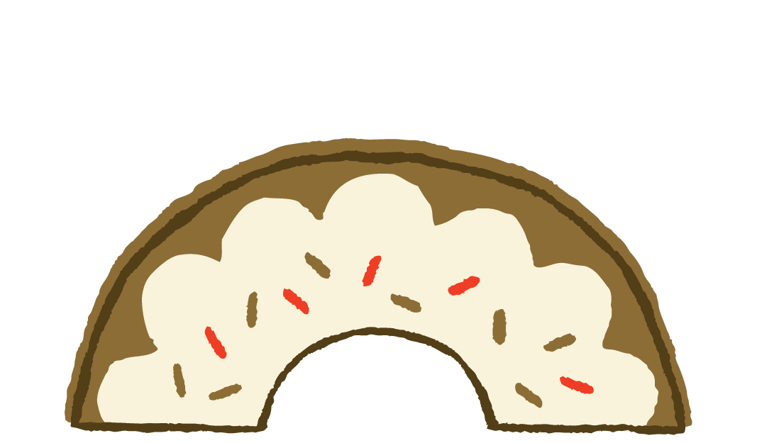 Donut friend done differently. Donuts clipart eating