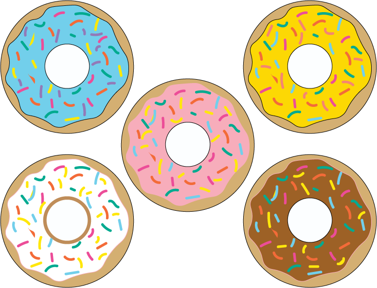 Printables pinterest party donuts. Clipart birthday donut