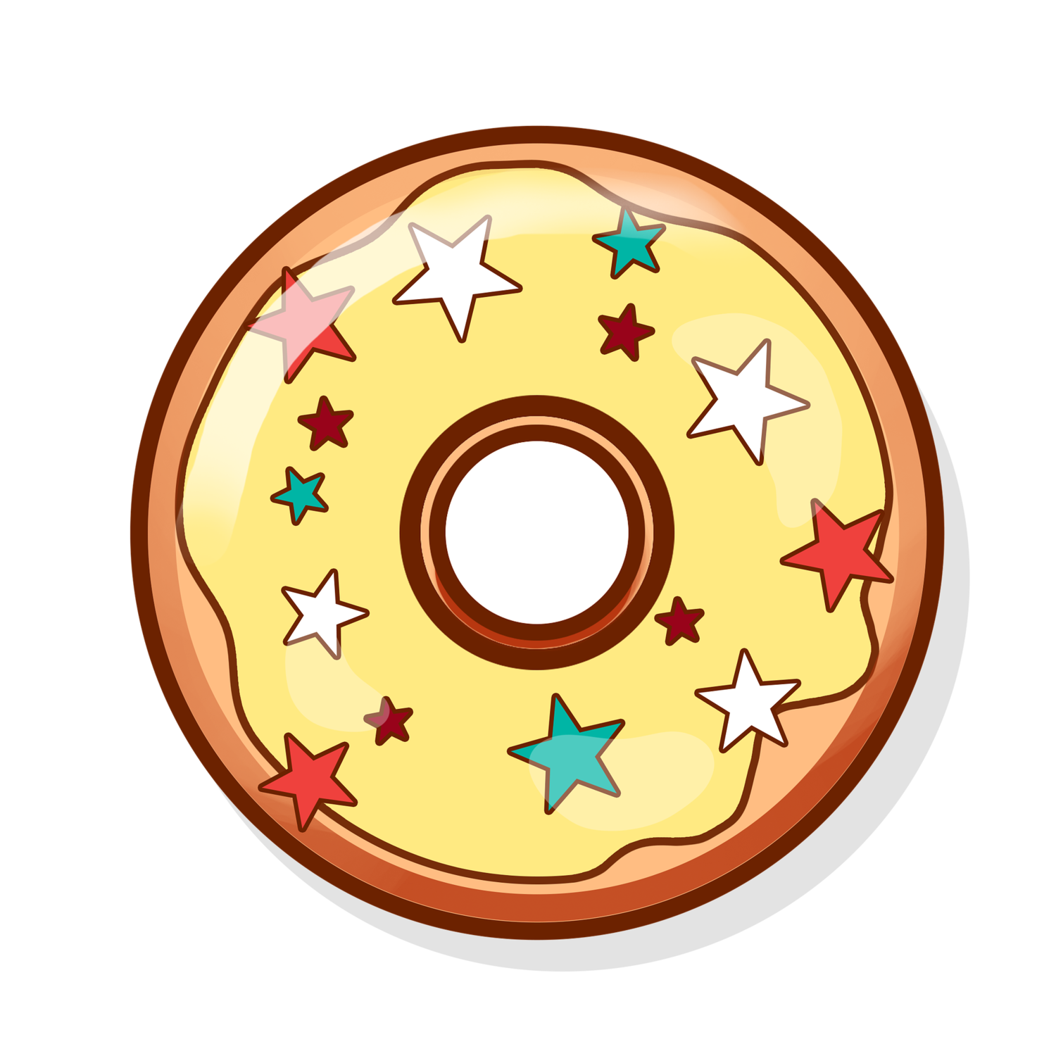 Donut clipart yellow. Sugarboy donuts donutpng