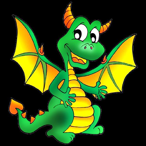 Clipart castle dragon. Cute dragons cartoon clip