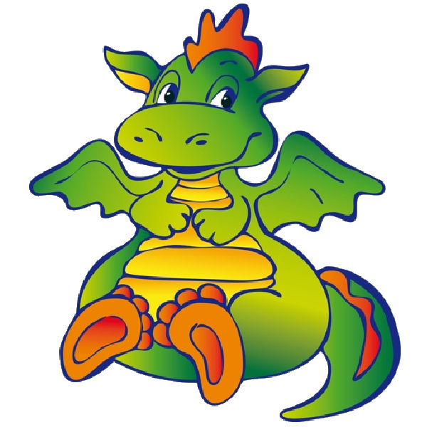 Kite clipart cartoon character. Funny dragons dragon images