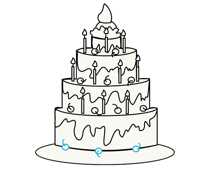 Birthday images at getdrawings. Clipart cake drawing