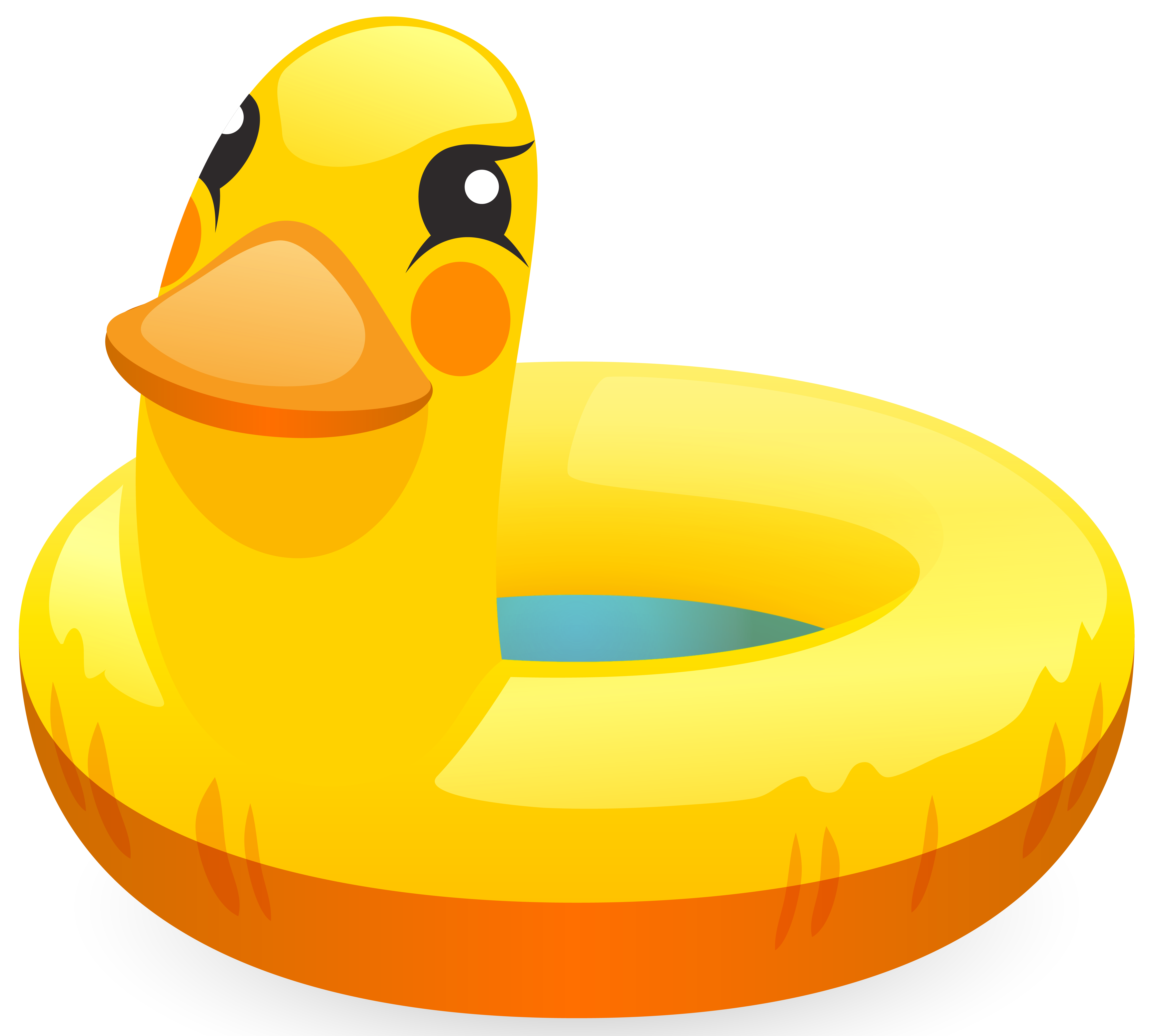 Swimming ring png clip. Ducks clipart toy duck
