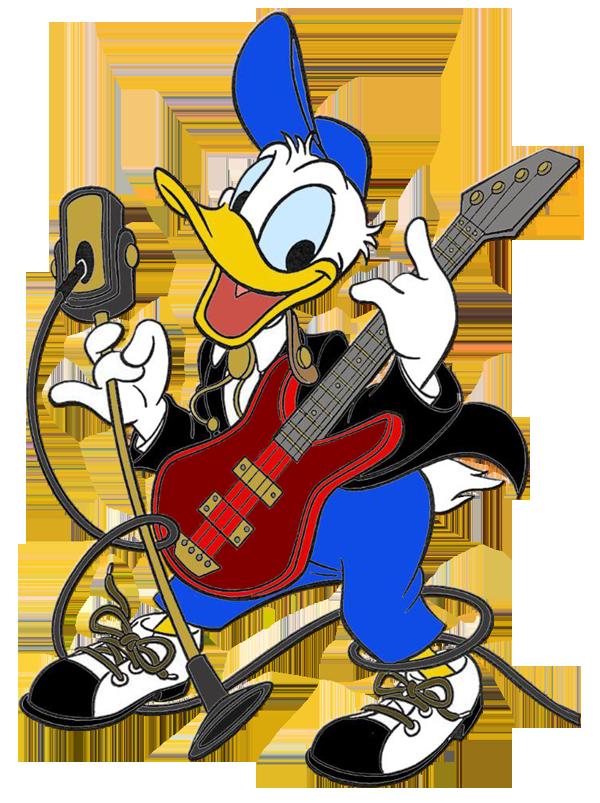 Donald duck clip art. Music clipart chair