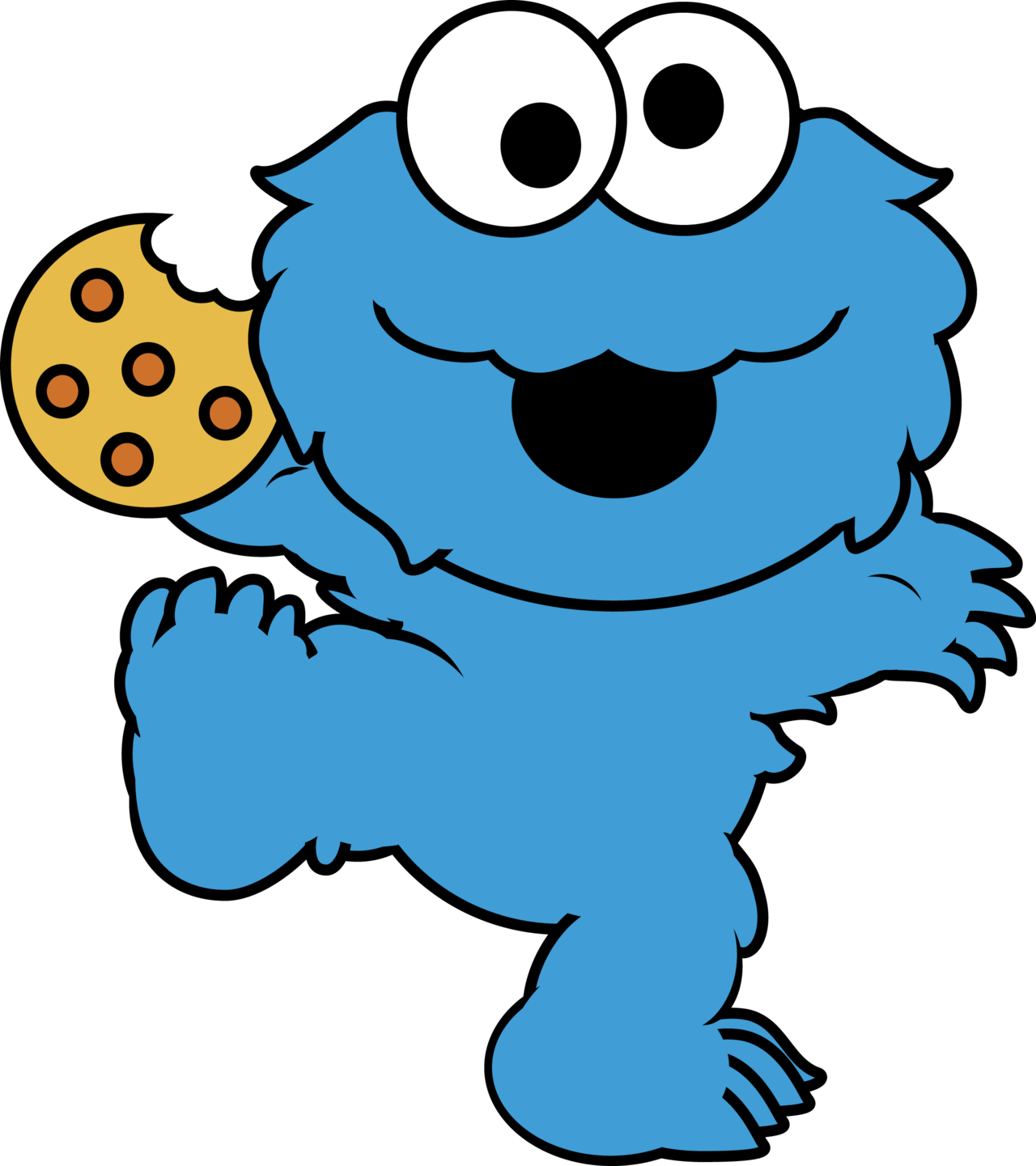 Monster clipart evil. Cookie google search wallpapers