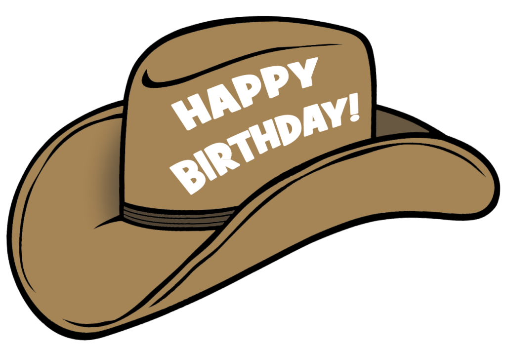 Dallas cowboys clipart stetson. Birthday hat transparent png