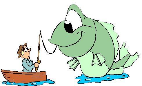 Fisherman clipart fish pond. Free fishing birthday cliparts