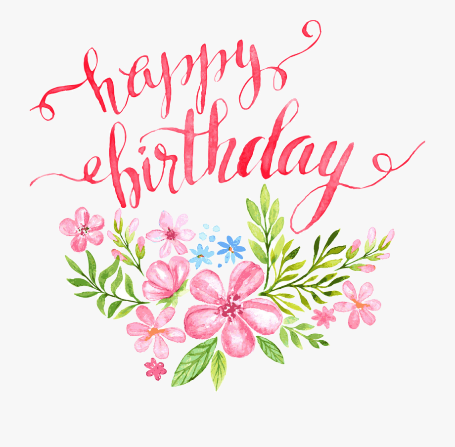 Clipart birthday floral. Pin by pngsector on