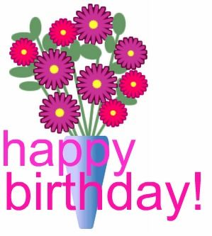 Clipart roses birthday. Free cliparts flowers download