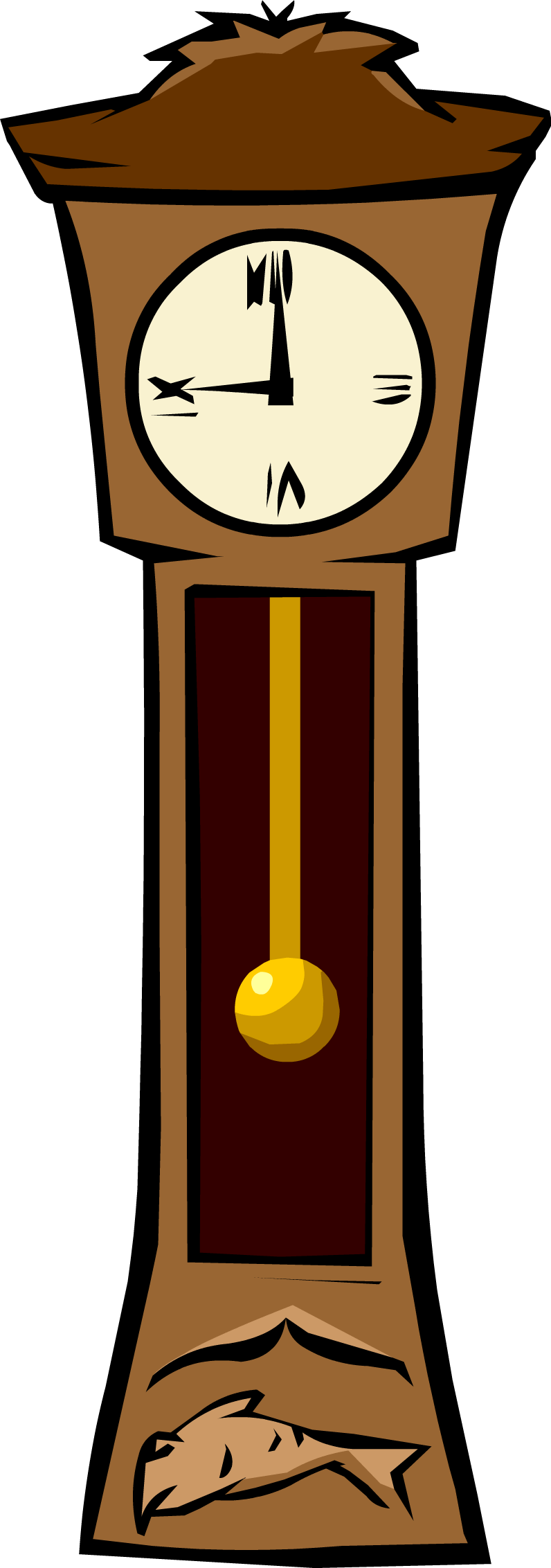 Grandfather yahoo search results. Clock clipart purple