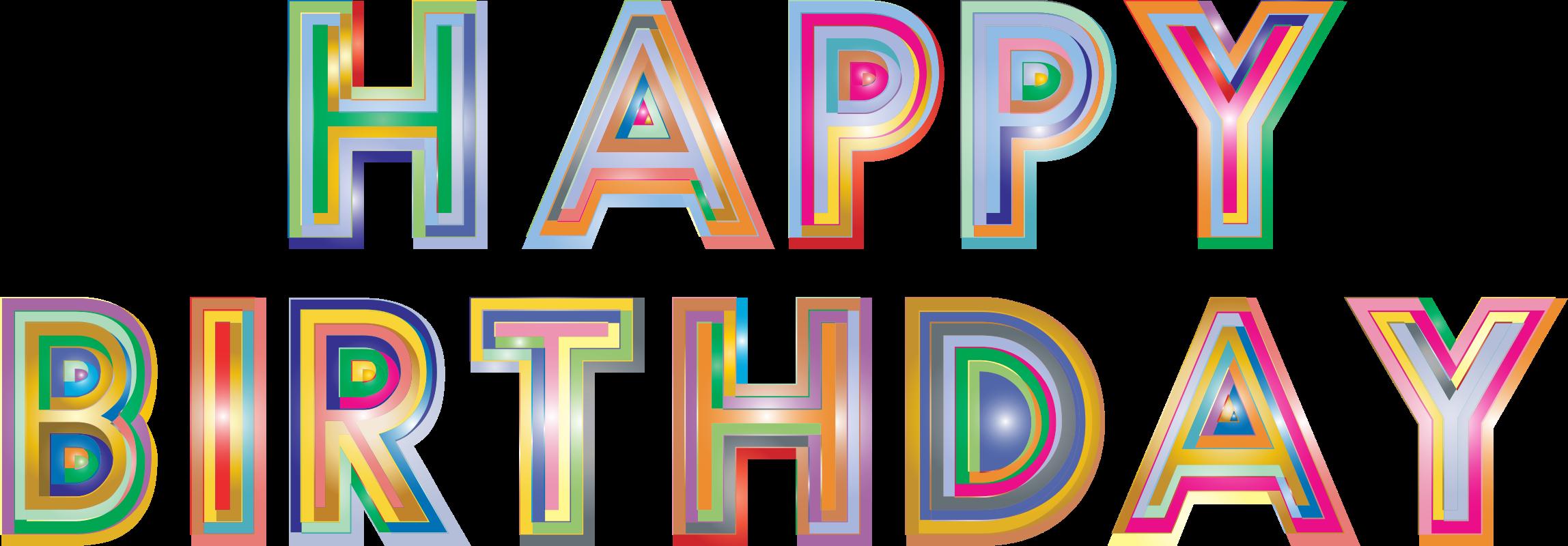 Birthday happy birthday