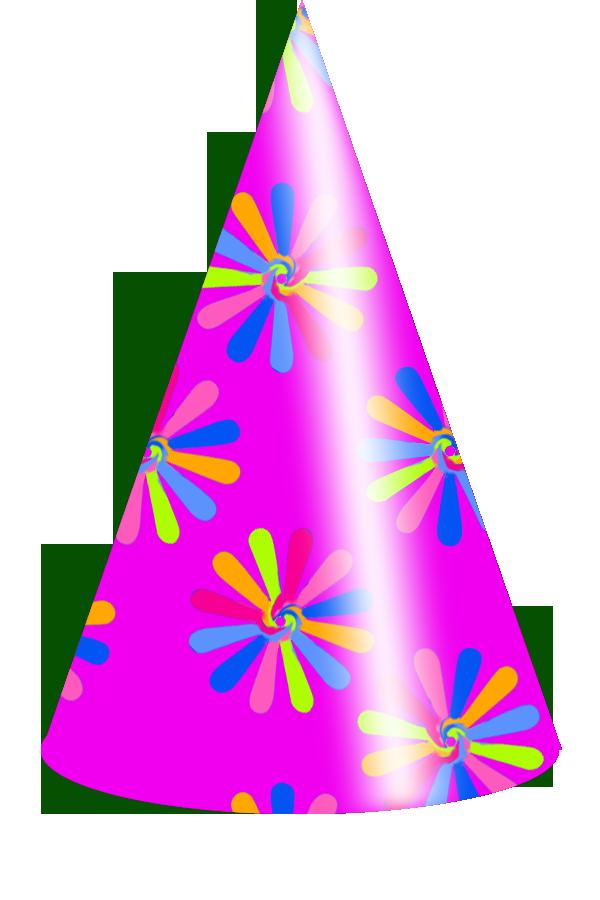 Clipart birthday hat. Transparent background panda free