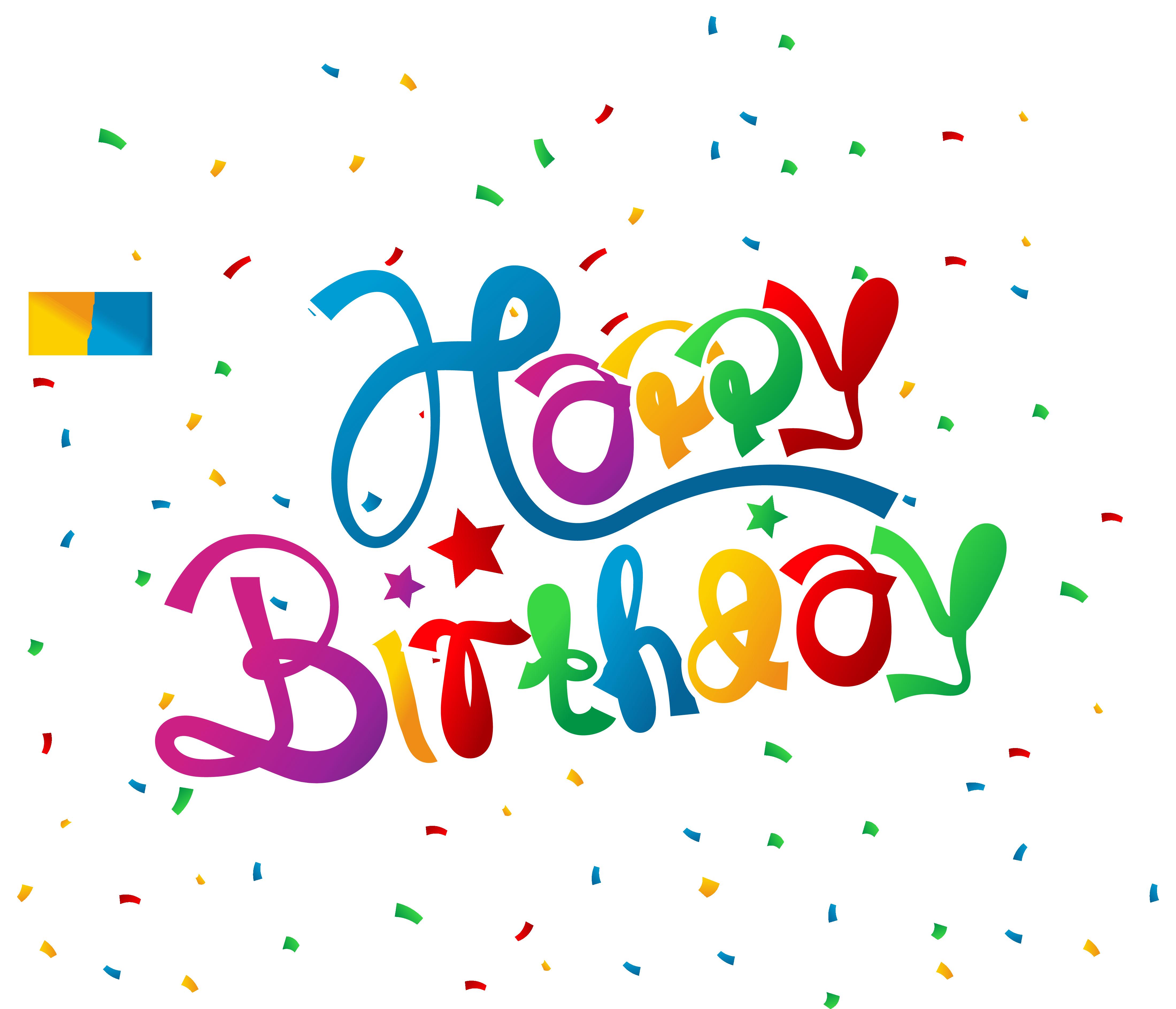 Cone clipart happy birthday. With confetti picture gallery