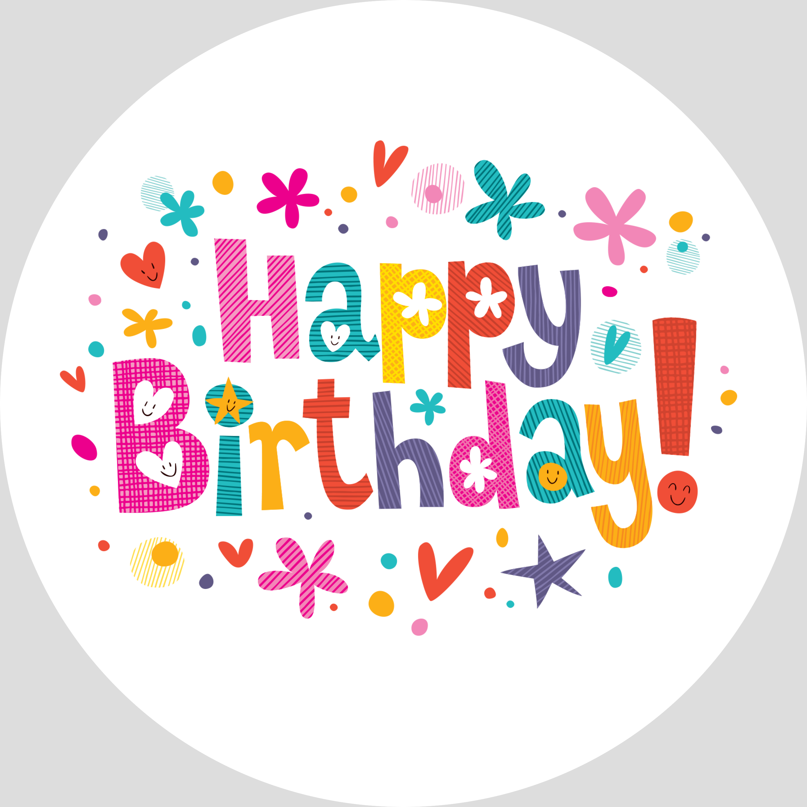 Png happy collection free. Clipart birthday icon