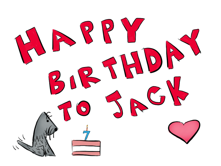 Happy Birthday to Jack! – Jack the Scottie