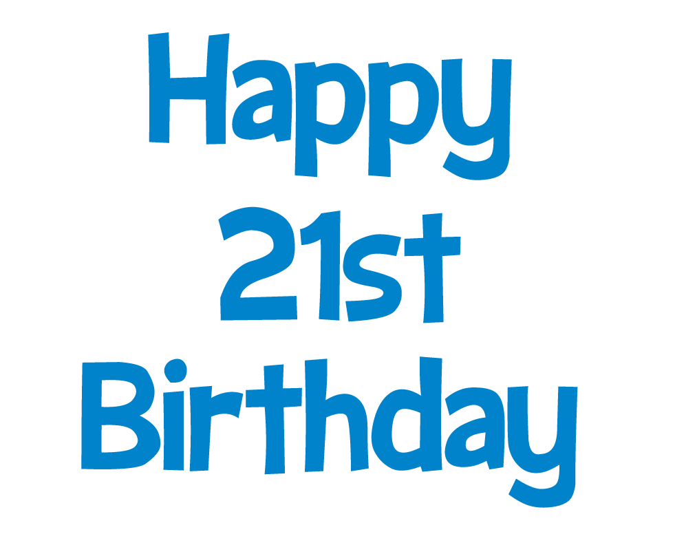 Clipart birthday january. Happy st picture blue