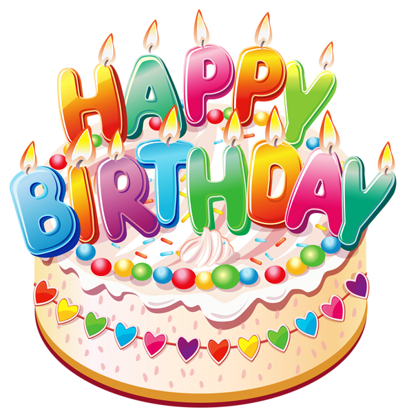 Clipart cat birthday cake. Happy birthdaycake png picture