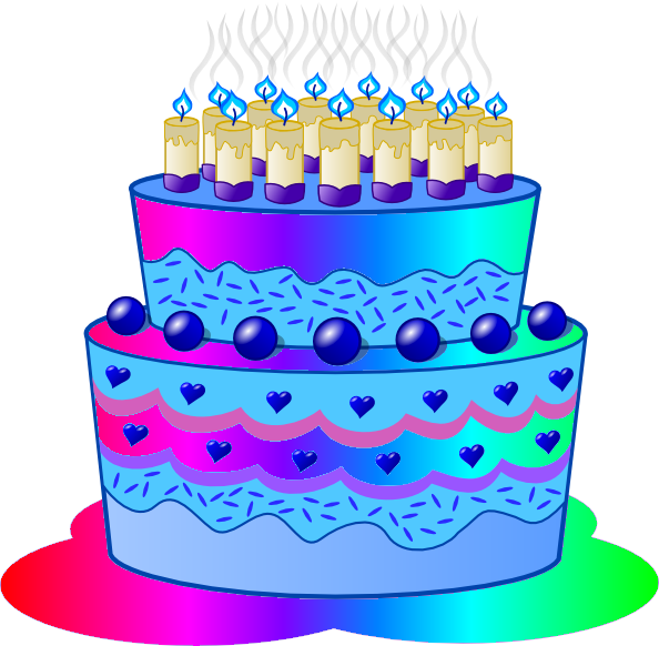 Clipart cake blue. Birthday cupcake muffin clip