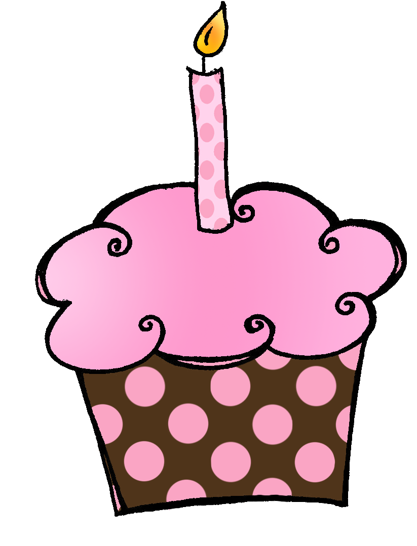 Birthday clipart muffin.  collection of cupcake
