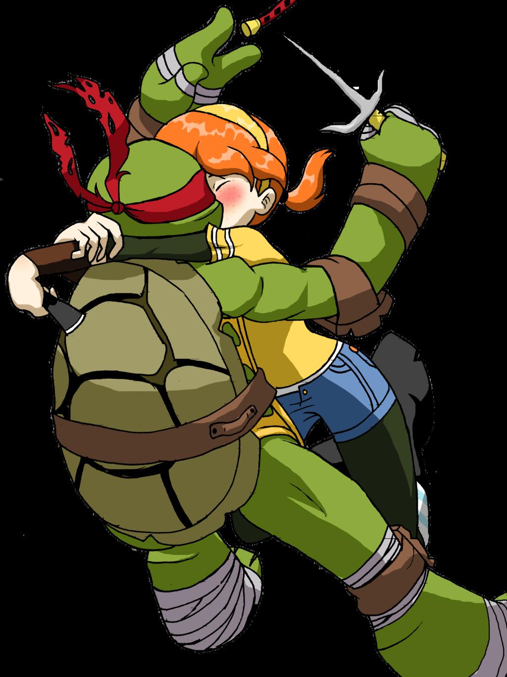 Valentine clipart ninja turtle. Raphril by heyerika deviantart
