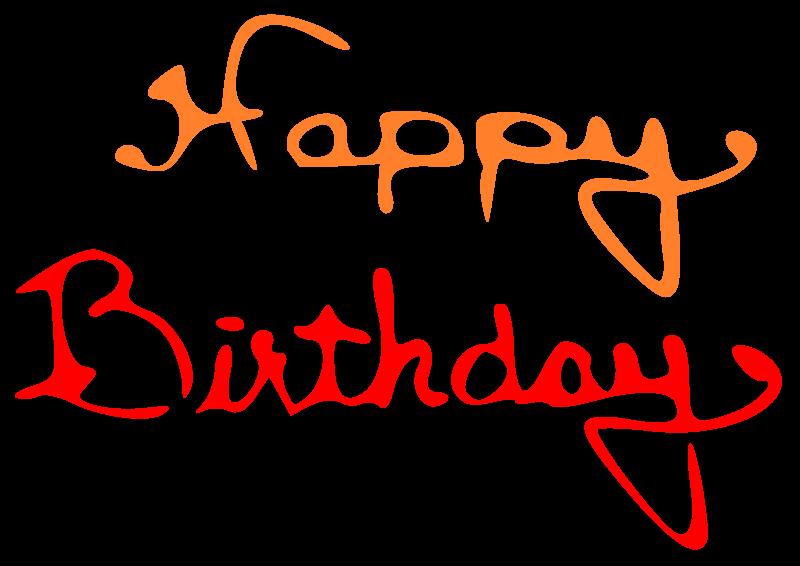 Name clipart happy birthday. Medium image png