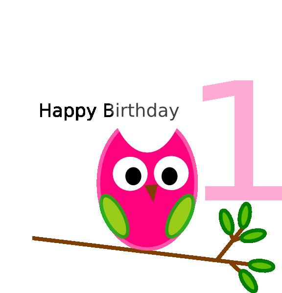 Clipart birthday owl. Clip art at clker