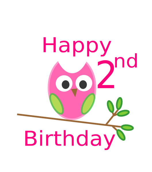 Nd clip art at. Clipart birthday owl